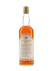 Aultmore 20 Year Old Bottled 1990s - Duty Freedom Fighters 70cl