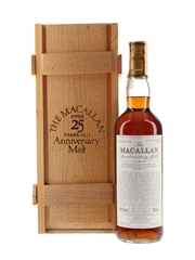 Macallan 1972 25 Year Old  Anniversary Malt