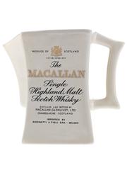 Macallan Water Jug Made 1970s-1980s - Giovinetti 14.5cm x 9.5cm x 9.5cm