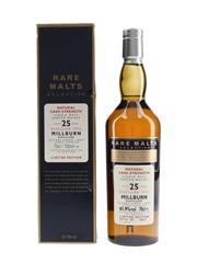 Millburn 1975 25 Year Old Bottled 2001 - Rare Malts Selection 70cl / 61.9%