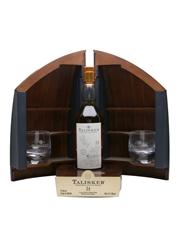 Talisker 1975 34 Year Old Boat Cabinet & Glencairn Crystal Glasses 70cl / 45.1%