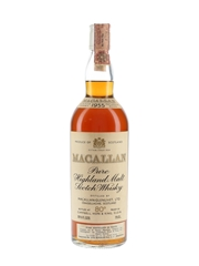 Macallan 1955 Campbell, Hope & King Bottled 1970s - Rinaldi 75cl / 45.8%