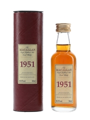 Macallan 1951 Bottled 2001 5cl / 48.8%