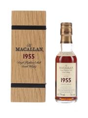 Macallan 1955 46 Year Old Fine & Rare
