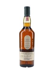 Lagavulin Natural Cask Strength Bottled 2010 - Distillery Exclusive 70cl / 52.5%