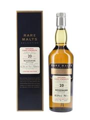 Rosebank 1981 20 Year Old Bottled 2002 - Rare Malts Selection 70cl / 62.3%