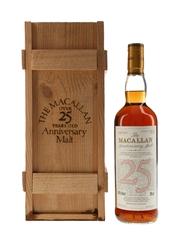 Macallan 1971 25 Year Old Anniversary Malt