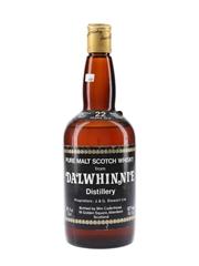 Dalwhinnie 1957 22 Year Old Bottled 1979 - Cadenhead 'Dumpy' 75cl / 46%
