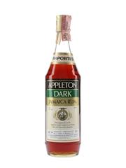 Appleton Dark Jamaica Rum Bottled 1980s - Soffiantino 75cl / 40%