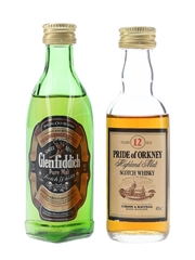 Glenfiddich Pure Malt & Pride Of Orkney 12 Year Old