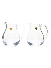 Oban & Glenkinchie Burns Crystal Water Jugs