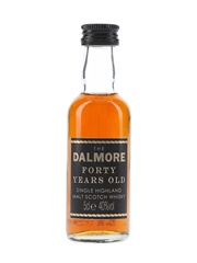 Dalmore 40 Year Old  5cl / 40%