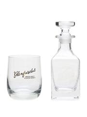 Glenfarclas Whisky Glass & Miniature Decanter