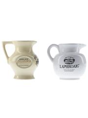 Laphroaig & Bowmore Ceramic Water Jugs