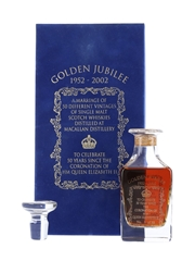 Macallan Golden Jubilee - Bottle Number 5 Crystal Decanter - The Whisky Exchange 15cl / 47%