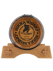Nikka Whisky Barrel Dispenser King Of Blenders 19cm x 25cm x 15cm