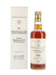 Macallan 1965 Bottled 1984 - Rinaldi 75cl / 43%