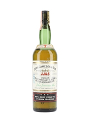 John Jameson & Son 7 Year Old 3 Star Dublin Irish Whiskey