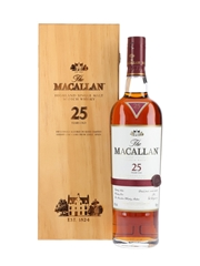 Macallan 25 Year Old Sherry Oak 70cl / 43%