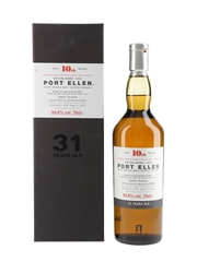 Port Ellen 1978 31 Year Old Special Releases 2010 - 10th Release 70cl / 54.6%