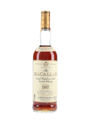 Macallan 1967 18 Year Old