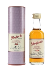 Glenfarclas 40 Year Old Signed By John L S Grant & George S Grant 5cl / 46%