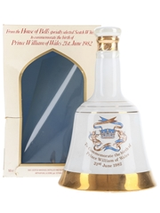 Bell's Ceramic Decanter Prince William Of Wales 1982 50cl / 40%