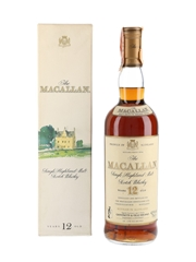 Macallan 12 Year Old Bottled 1980s - Giovinetti 75cl / 43%