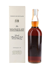 Macallan 1959 Campbell, Hope & King Bottled 1970s - Rinaldi 75cl / 46%