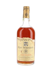 William Penn Rye Whiskey Bottled 1930s-1940s - Consolidated Distilleries Limited 94.6cl / 50%
