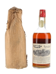 Old Log Cabin Bourbon Whiskey Bottled 1920s-1930s - Distillers Corporation Limited 94.6cl / 50%