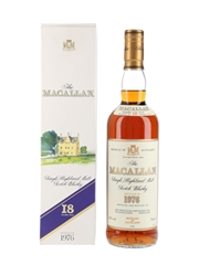Macallan 1976 18 Year Old Bottled 1994 70cl / 43%