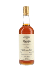 Clynelish 1965 Bottled 1986 - Corti Brothers - Signed Bottle 75cl / 43%