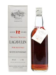 Lagavulin 12 Years Old White Horse Distillers 75cl