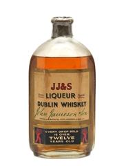 Jameson's JJ&S Liqueur Dublin Whisky