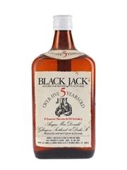 Black Jack 5 Year Old Bottled 1970s - Fabbri 75cl / 40%