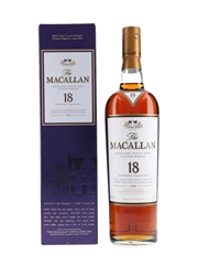 Macallan 18 Year Old 1990 And Earlier 70cl / 43%