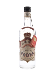 Smirnoff Red Label Bottled 1970s - Cinzano 75cl / 40%