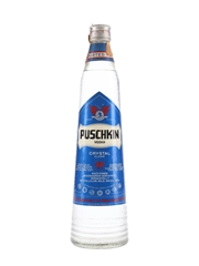 Puschkin Crystal Clear Vodka Bottled 1970s 75cl / 40%