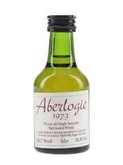 Aberlogie 1973 20 Year Old The Whisky Connoisseur 5cl / 59.3%
