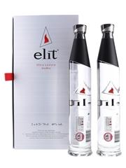 Stoli Elit Set Ultra Luxury Vodka 2 x 70cl / 40%