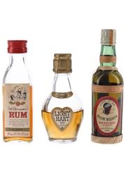 Light Hart, Rhum Negrita & St Christopher Rum