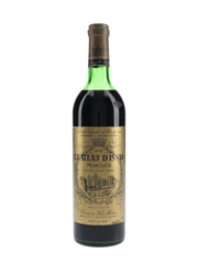 Chateau D'Issan 1970