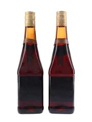 Cusenier Apricot Brandy Bottled 1970s 2 x 70cl / 23%