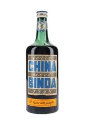Binda China Liqueur Bottled 1950s 100cl / 21%