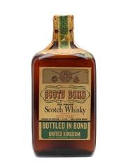 Scots Bond Bottled 1960s 75cl