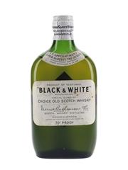 Black & White Spring Cap Bottled 1950s 37.5cl / 40%