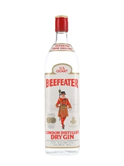 Beefeater Dry Gin Bottled 1970s 94.5cl / 47%