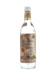Bacardi Carta Blanca Bottled 1960s-1970s - Venezuela 75cl / 40%