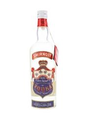 Smirnoff Red Label Bottled 1950s - Cinzano 75cl / 50%
